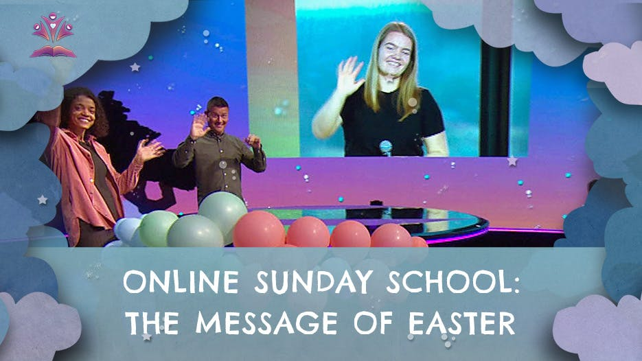 Sunday School on the message of Easter